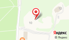 Отель Русь на карте