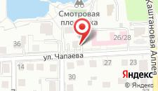 Мини-отель Авиатор на карте
