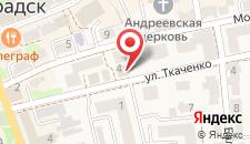 Отель Elisa Inn на карте