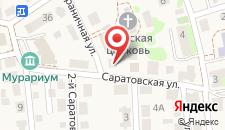 Бутик-Отель ПАРАDOX на карте