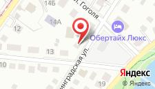 Вилла Северин на карте