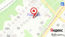 Гостиница Параисо на карте