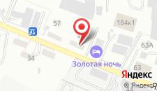 Ресторанно-гостиничный комплекс Золотая Ночь на карте
