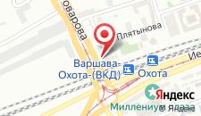 Отель Golden Tulip Warsaw Centre на карте