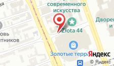 Отель Mercure Warszawa Centrum на карте