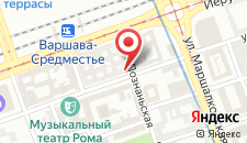 Хостел Warsaw Center Hostel LUX на карте