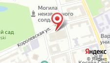 Отель Sofitel Warsaw Victoria на карте