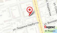 Отель Hotel Reytan на карте