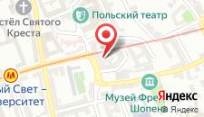 Хостел The Warsaw Hostel на карте