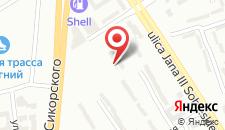 Отель Start Hotel Aramis на карте