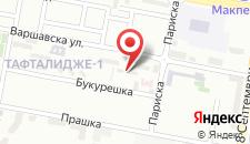 Апартаменты Skopje Cozy Apartment на карте