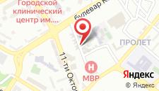 Хостел Get Inn Skopje Hostel на карте