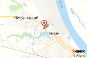 Адрес Vodokanal на карте