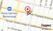 Отель Изи-Отель София на карте