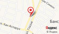 Отель Evelina Palace Hotel на карте