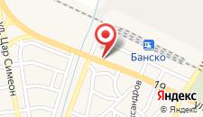 Отель Grand Hotel Bansko на карте