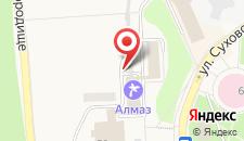 Курортный отель Алмаз на карте