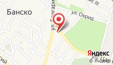 Отель Pirin на карте