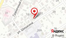 Апартаменты На Шишкина на карте