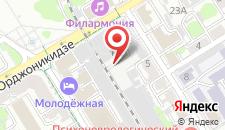 Хостел Brest Central на карте