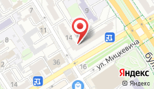 Апартаменты На Карбышева 14 на карте