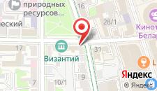 Апартаменты Brest City Center на карте