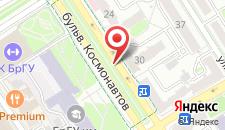 Апартаменты Бульвар Космонавтов 8 на карте
