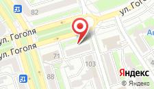 Апартаменты SergeApart на улице Гоголя на карте