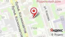 Апартаменты Бульвар Космонавтов 96 на карте