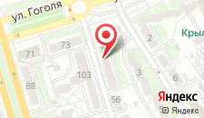 Апартаменты На Кирова 52 на карте