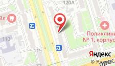 Апартаменты Космонавтов 120 на карте