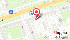 Апартаменты На Машервоа 59 на карте