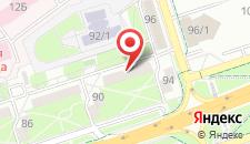 Апартаменты На Машерова 92 на карте