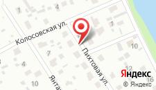 Загородный отель SergeApart на Пихтовой на карте