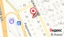 Апартаменты 4 на Аржановой на карте
