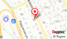 Апартаменты 1 на Аржановой на карте