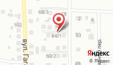 Апартаменты Березовка на карте