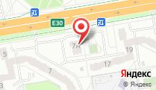 Апартаменты На Варшавке на карте