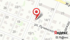 Апартаменты У Виктора на карте