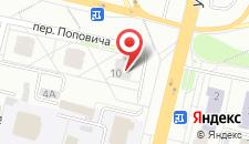 Апартаменты Beautiful на Поповича 10-87 на карте