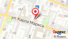 Отель Славия на карте