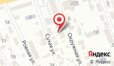 Отель Райское Яблочко на карте