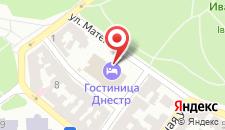 Отель Днистер на карте