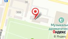 Отель Надия на карте