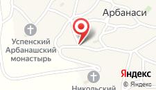Отель Отель Елена на карте