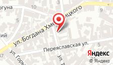 Отель Магнат на карте