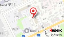 Гостиница Славянская хата на карте