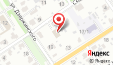 Гостиница Венин на карте
