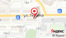 Апартаменты На Ленина 12 на карте