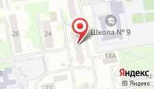 Апартаменты Федотова 22а на карте